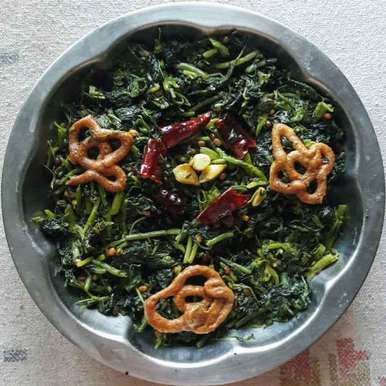 Photo of Amaranth leaves fry by Sree Vaishnavi at BetterButter