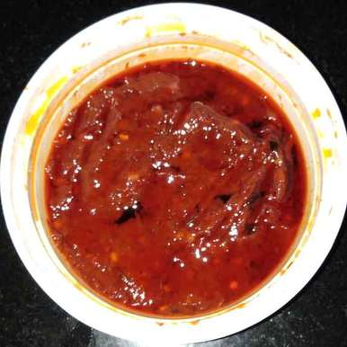 Photo of Red chilli pickle by Sree Vaishnavi at BetterButter