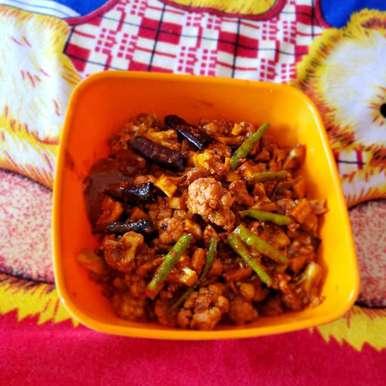 Cauliflower pickle recipe in Telugu,కాలీఫ్లవర్ ఆవకాయ, Sree Vaishnavi