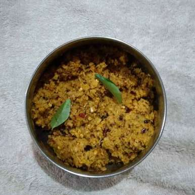 Coconut chutney recipe in Telugu,కొబ్బరి కాయ పచ్చడి, Sree Vaishnavi
