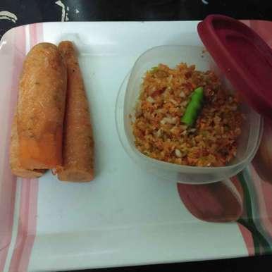 Carrot pacchi pachadi recipe in Telugu,క్యారెట్ పచ్చి పచ్చడి, Sree Vaishnavi