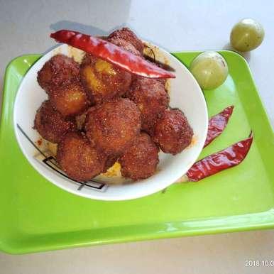 Amla avakaya recipe in Telugu,ఉసిరి ఆవకాయ, Sree Vaishnavi