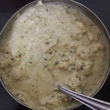 Roasted brinjal curd chutney recipe in Telugu,కాల్చిన వంకాయ పెరుగు పచ్చడి, Sree Vaishnavi