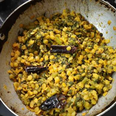 Photo of Malabar spinach dal by Sree Vaishnavi at BetterButter