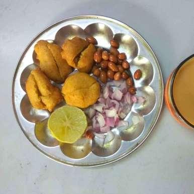 Carom leaves fritters recipe in Telugu,వాము ఆకు బజ్జి, Sree Vaishnavi