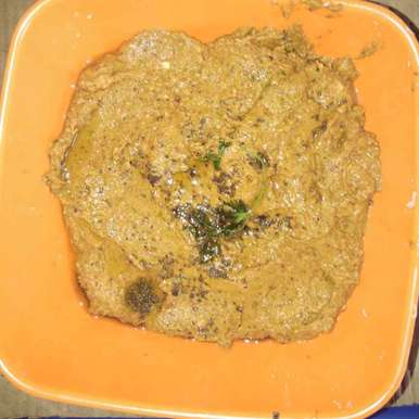 Raw tamarind coriander chutney recipe in Telugu,చింతకాయ కొత్తిమీర పచ్చడి, Sree Vaishnavi