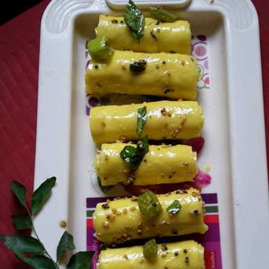 Photo of Khandvi by Rohini Rathi at BetterButter