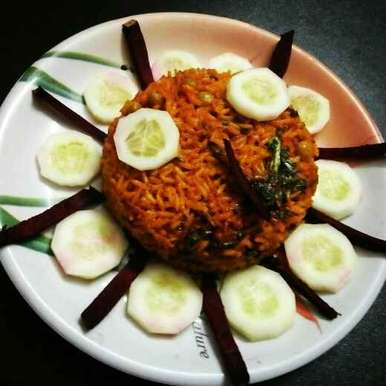 Photo of Beet root pulav by Rohini Rathi at BetterButter