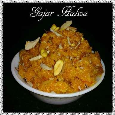 Photo of Gajar Halwa by Chinu's Kitchen Corner at BetterButter
