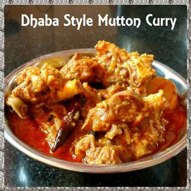 Photo of Dhaba Style Mutton Curry by Chinu's Kitchen Corner at BetterButter