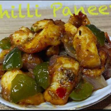 Photo of Chilli Paneer by Chinu's Kitchen Corner at BetterButter