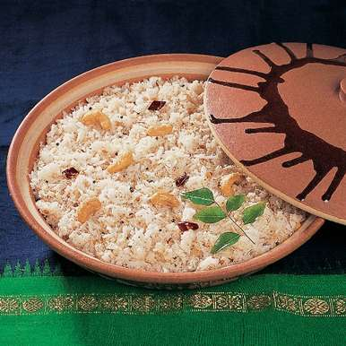 Photo of Tengai Saadam (Coconut Rice) by South Indian Vegetarian Cuisine- Roli Books at BetterButter