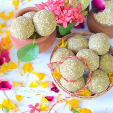 Photo of Til ke laddu by Roop Parashar at BetterButter