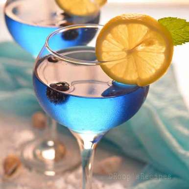 Photo of Blue fruit punch by Roop Parashar at BetterButter