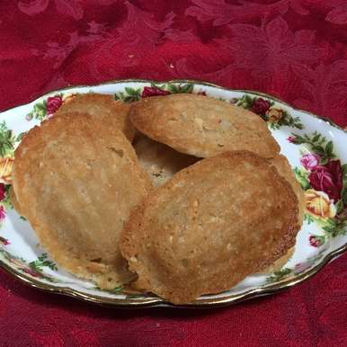 Orange Blossom Madeleine Cookies, How to make Orange Blossom Madeleine Cookies