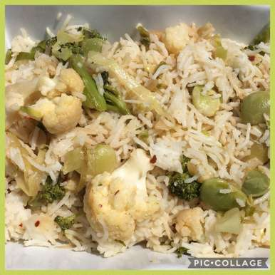 Photo of Jhatphat Chinese Rice by Anandha Bhagyam at BetterButter