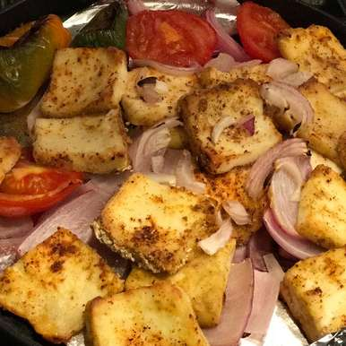 Photo of Onion Paneer Tikka by Anandha Bhagyam at BetterButter