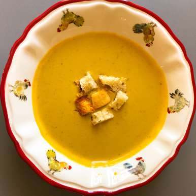 Photo of Cauliflower & Pumpkin winter warmer soup by Anandha Bhagyam at BetterButter