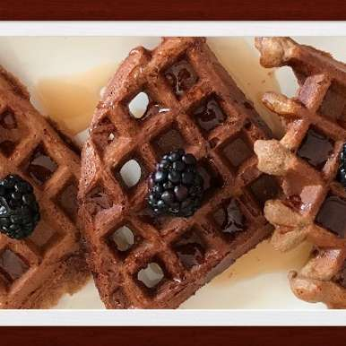 Photo of Chocolate Waffles by Anandha Bhagyam at BetterButter