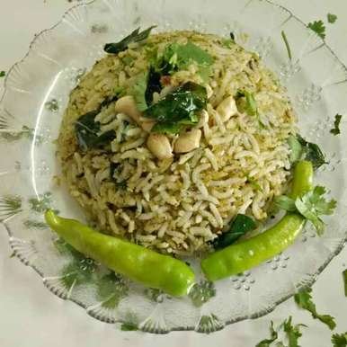 Photo of Coconut spinach  rice by Ruchi Chopra at BetterButter