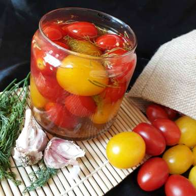 Photo of Pickled Cherry Tomatoes by Ruchi sharma at BetterButter