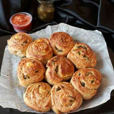 Photo of Jalapeno Cheese Bread Rolls by Ruchi sharma at BetterButter