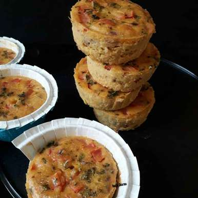 Photo of Gram Flour/Besan Muffins by Ruchi sharma at BetterButter