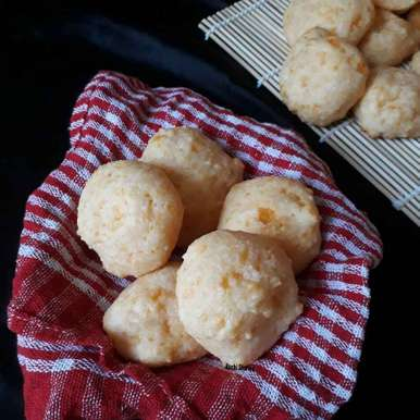 Photo of Brazilian Cheese Bread (PAO DE QUEIJO) by Ruchi sharma at BetterButter