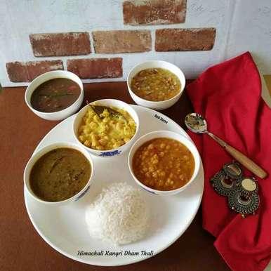 Photo of Himachali Kangri Dham Thali by Ruchi sharma at BetterButter