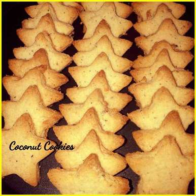 Photo of Coconut cookies by Ruchi Srivastava at BetterButter