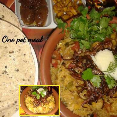 One pot meal, How to make One pot meal