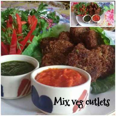 Photo of Mix veg cutlet by Ruchi Srivastava at BetterButter