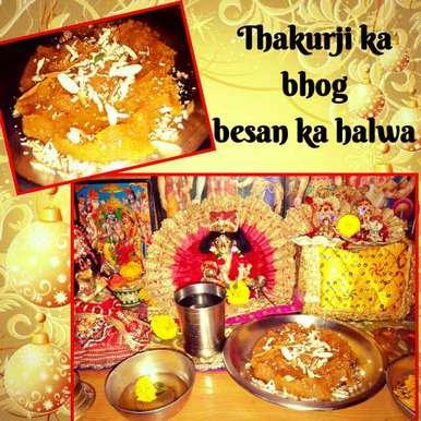 Photo of Besan ka halwa by Ruchi Srivastava at BetterButter