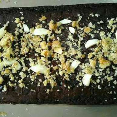 Photo of Eggless chocolate dry fruit cake by Ruchiajay Mahant at BetterButter