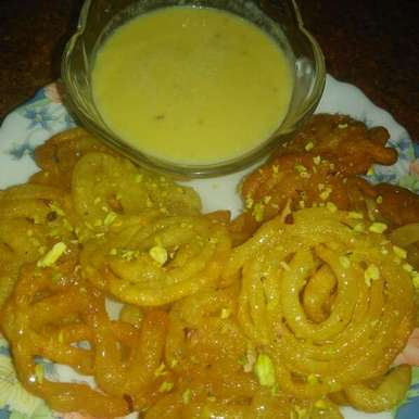 Photo of Jalebi with Rabri by Ruchiajay Mahant at BetterButter