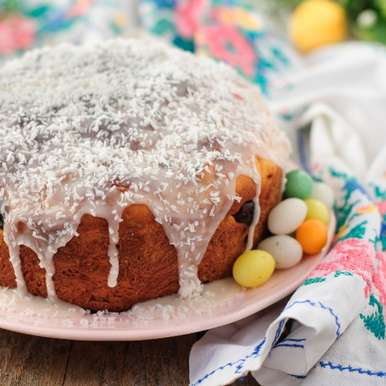 Photo of Kulich : Russian Easter Cake by Ruchira Hoon at BetterButter