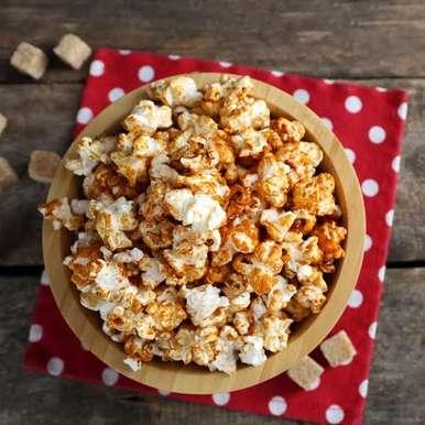 Photo of Caramel Popcorn by Ruchira Hoon at BetterButter