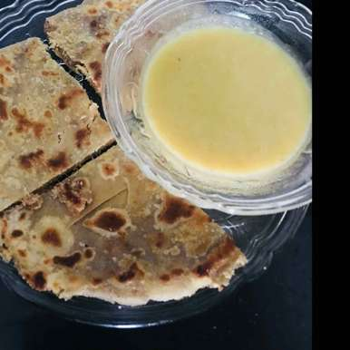 Photo of Shenga Holige with Daal Payesam by Runa Ganguly at BetterButter