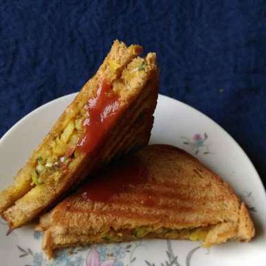 Photo of Grilled Bread Sandwitch by runu chowdhury at BetterButter