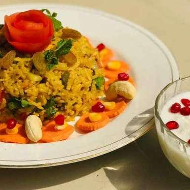 Photo of Brown Basmati Rice pulav by Rupa Thaker at BetterButter