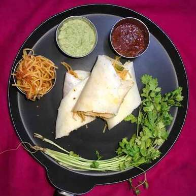 Photo of Chinese dosa by Rupa Thaker at BetterButter