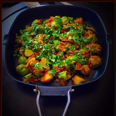 Photo of Indian-Style Brussel Sprouts by Rupal Patel at BetterButter