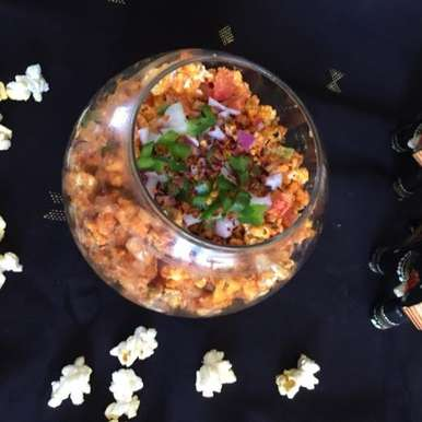 Photo of Pop Corn Bhel by Rupal Patel at BetterButter