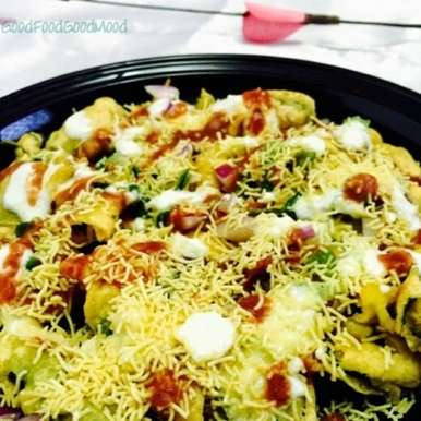Photo of Spinach-Kale Pakoda Chaat by Rupal Patel at BetterButter