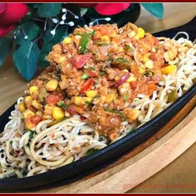Photo of Thai Noodle Sizzler Chaat by Rupal Patel at BetterButter