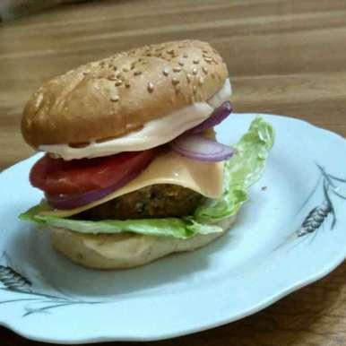 Photo of Sweet potato and Soya Burger by Rupali Koli at BetterButter