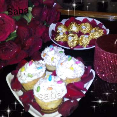 Photo of Pear Cupcakes by Saba Rehan at BetterButter