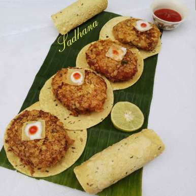 Photo of Egg papad bites by Sadhana Dey at BetterButter