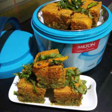 Photo of Two in one dhokla by Sadhana Dey at BetterButter