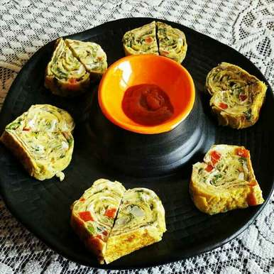 Photo of Heart Shaped Mini Omelettes by Sadhana Khedekar at BetterButter